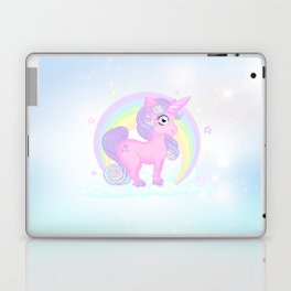 Baby pastel unicorn Laptop & iPad Skin
