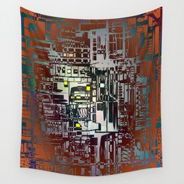 Where Are YOU - 2 / Density III Wall Tapestry