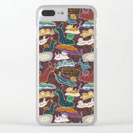 Nudibranchia Clear iPhone Case