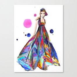 SpringChanel no 2 Canvas Print