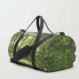 Beautiful Morning Summer Greenery #decor #society6 #buyart Duffle Bag