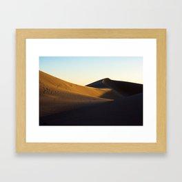 California Dunes Framed Art Print
