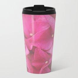 Hydrangea in Pink Travel Mug