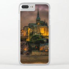 Le Mont Saint-Michel Clear iPhone Case