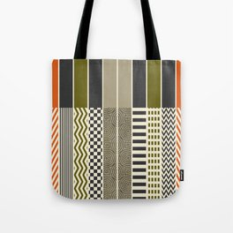 Patterns - Color Tote Bag
