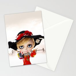 Erregiro Blythe Custom Doll Twiggy Stationery Cards