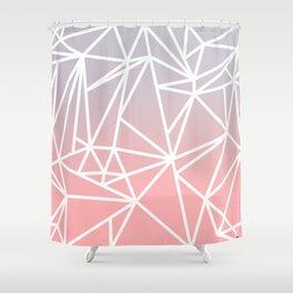 Gradient Mosaic 1 Shower Curtain