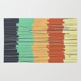 Shreds of Color Rug