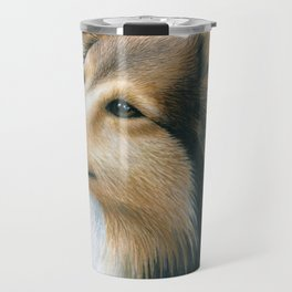 Sheltie Collie Dog Travel Mug