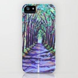 Kauai Tree Tunnel iPhone Case