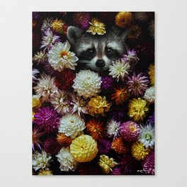 bloom with grace. Canvas Print