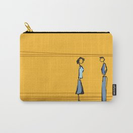 Woman and Man in Utah Carry-All Pouch