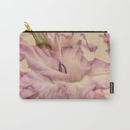 Shabby chic gladioli Carry-All Pouch