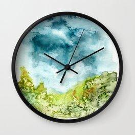 Garden of Solitude Wall Clock