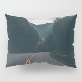 Road #Trees Pillow Sham