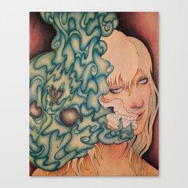 Seeping Canvas Print