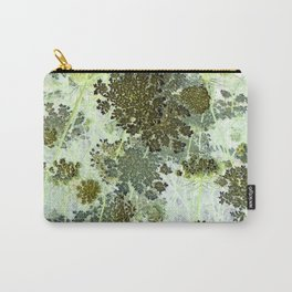 Inverted Art - Queen Anne's Lace Carry-All Pouch