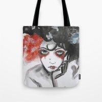 vendetta Tote Bags featuring Vendetta by Valeri Prokopenko