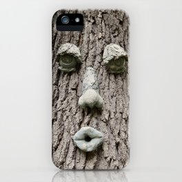 The Tree is Watching iPhone Case