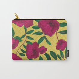 Pic Nic Flowers Carry-All Pouch