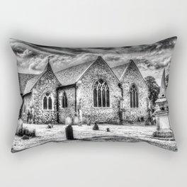 Orsett Church Essex England Rectangular Pillow