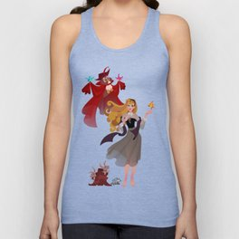 Sleeping Beauty - Once Upon a Dream Unisex Tank Top