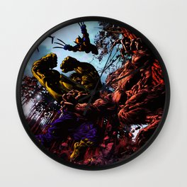 defend the right Wall Clock