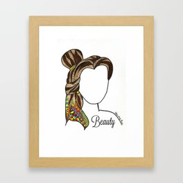 Belle - from Beauty and the Beast Framed Art Print