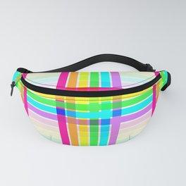 Weaved Rainbow Fanny Pack