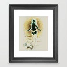 Wolf Den Framed Art Print