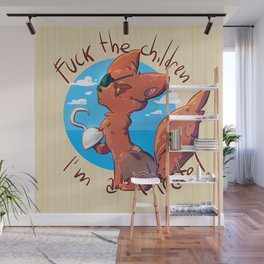 Foxy the pirate Wall Mural