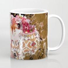 Rose. Black Mug