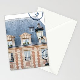 Place des Vosges in Paris France Stationery Cards