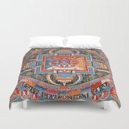Mandala of Jnanadakini Duvet Cover