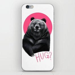 Bear Hug iPhone Skin