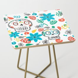 Summer sugar skulls Side Table