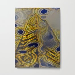 Mandalic Highrise Metal Print