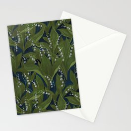 Lily of the Valley Field Stationery Cards