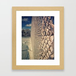 Sno-where To go Framed Art Print