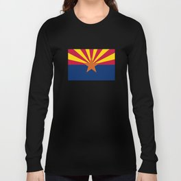 Arizona: Arizona State Flag Long Sleeve T-shirt
