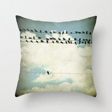 Many and One Throw Pillow