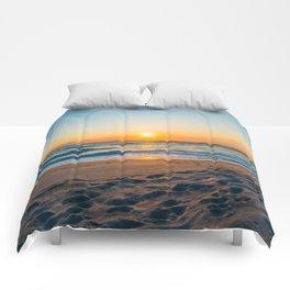 Canaveral National Seashore Sunrise Comforters