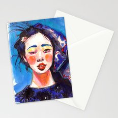 Fashion - Blue Spring Stationery Cards