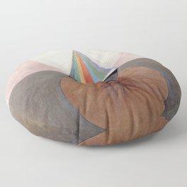 Hilma af Klint Group IX/SUW The Swan No. 12 Floor Pillow