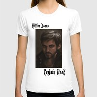 "ouat T-shirts featuring OUAT - Killian Jones - Captain Hook by Barbara ""Yuhime"" Wyrowińska"