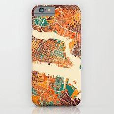 New York Mosaic Map #2 Slim Case iPhone 6