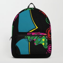 Clown Costume Halloween Backpack