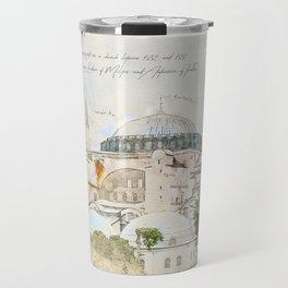 Hagia Sophia, Istanbul Travel Mug