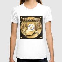 black and gold T-shirts featuring Black Gold by Nikola Kolobaric