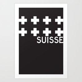 Suisse//One Art Print